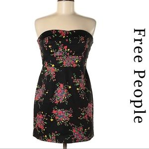 Free People | Women's Strapless Cocktail Dress